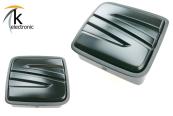 SEAT Leon 5F Emblem schwarz matt Zeichen hinten