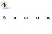 SKODA Karoq NU7 Schriftzug schwarz hinten