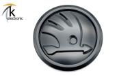 SKODA Kodiaq NS7 matt schwarzes Zeichen vorne