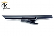 VW Golf 8 CD R R-line Schriftzug schwarz matt vorne