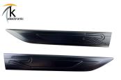 VW Golf 8 CD R R-line Schriftzug schwarz matt Kotflügel links + rechts