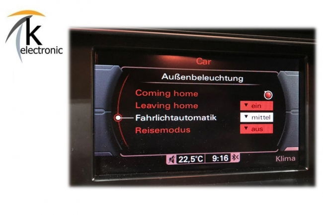 k electronic audi a4 8k b8 vfl licht regensensor. Black Bedroom Furniture Sets. Home Design Ideas