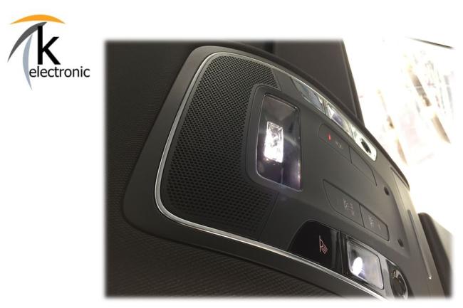 k electronic audi a6 4g ambientebeleuchtung. Black Bedroom Furniture Sets. Home Design Ideas