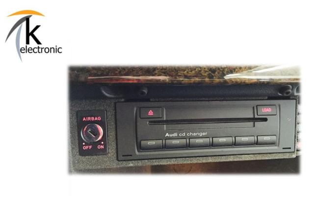 k electronic audi tt 8j antennensystem radio auf rns e. Black Bedroom Furniture Sets. Home Design Ideas
