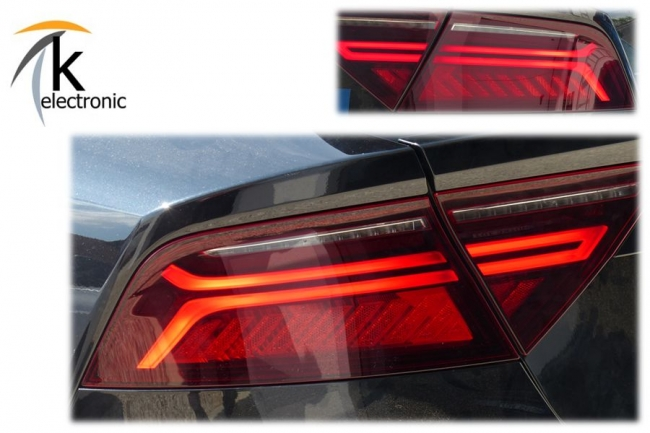 k electronic gmbh audi a7 4g facelift led heckleuchten. Black Bedroom Furniture Sets. Home Design Ideas
