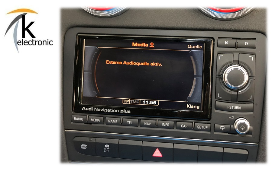 Audi TT 8J ab 2007 A3 8P ab 2010  Music Interface AMI RNS-E Adapter Kabel