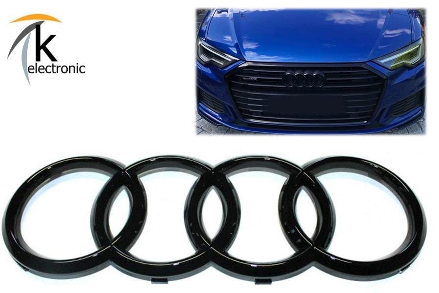 SKODA SuperB 3V Emblem schwarz glänzend Zeichen für Motorhaube Front vorne