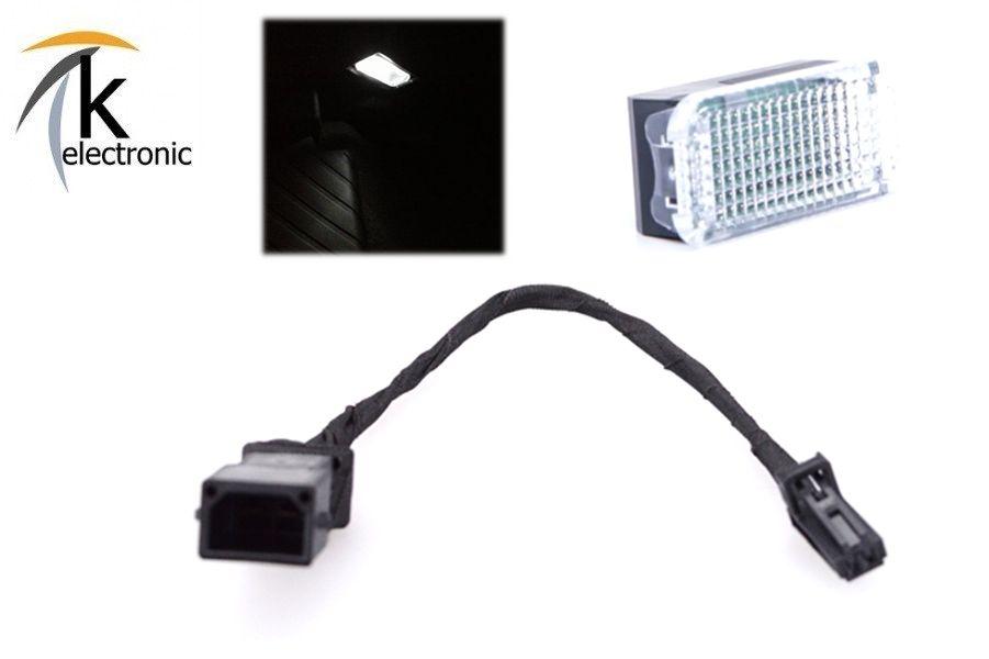 Adapter Stecker Kabel Original VW Handschuhfach Kofferraumbeleuchtung für VW