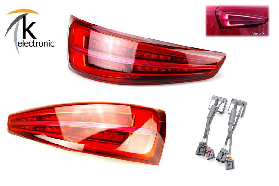 Audi Q3 8U Adapter Kabel Halogen auf Vor Facelift LED Rückleuchten Heckleuchten
