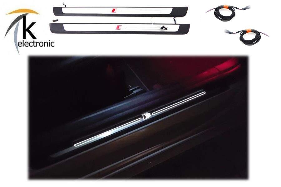 AUDI Q2 GA Türbeleuchtung quattro Logo Ausstiegsbeleuchtung Nachrüstpaket li+re