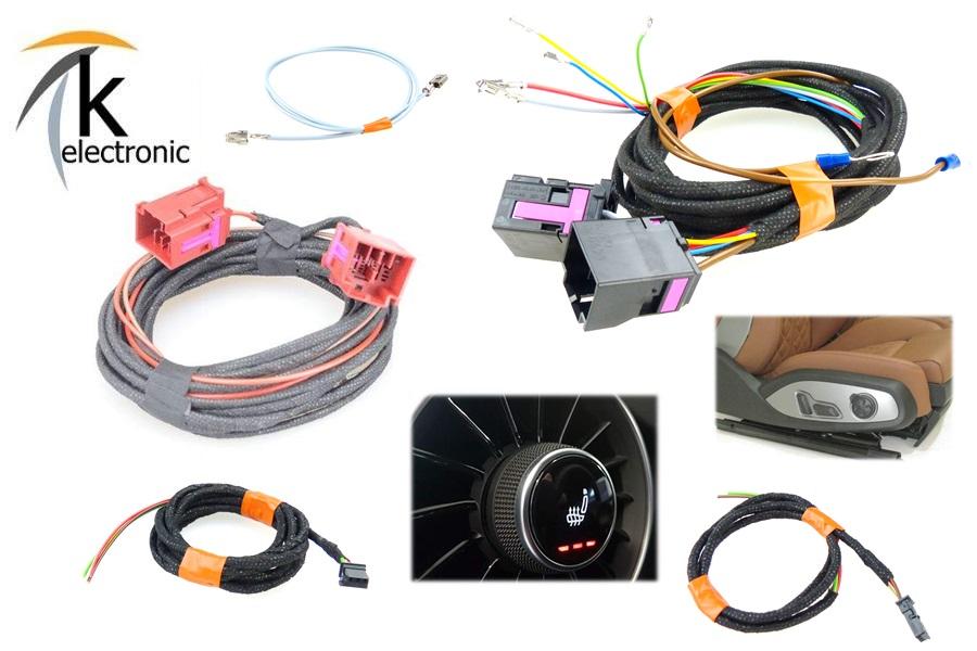 Kabelsatz Sitzheizung  für Audi Q7 4L nur Sitzheizung