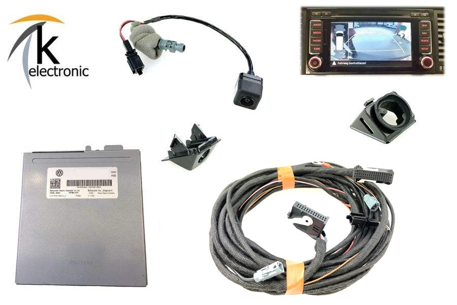 k electronic vw t5 gp r ckfahrkamera rear view nachr stpaket. Black Bedroom Furniture Sets. Home Design Ideas