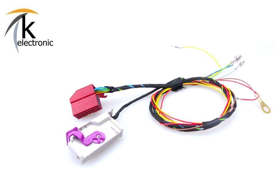 k electronic audi a3 8l fis mfa bordcomputer kabelsatz. Black Bedroom Furniture Sets. Home Design Ideas