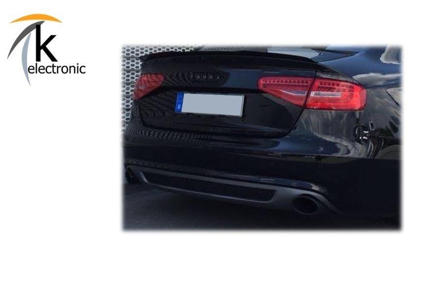 Original Audi A4 8K Limousine B8 Emblem Ringe Schriftzug Heckklappe Heck Zeichen