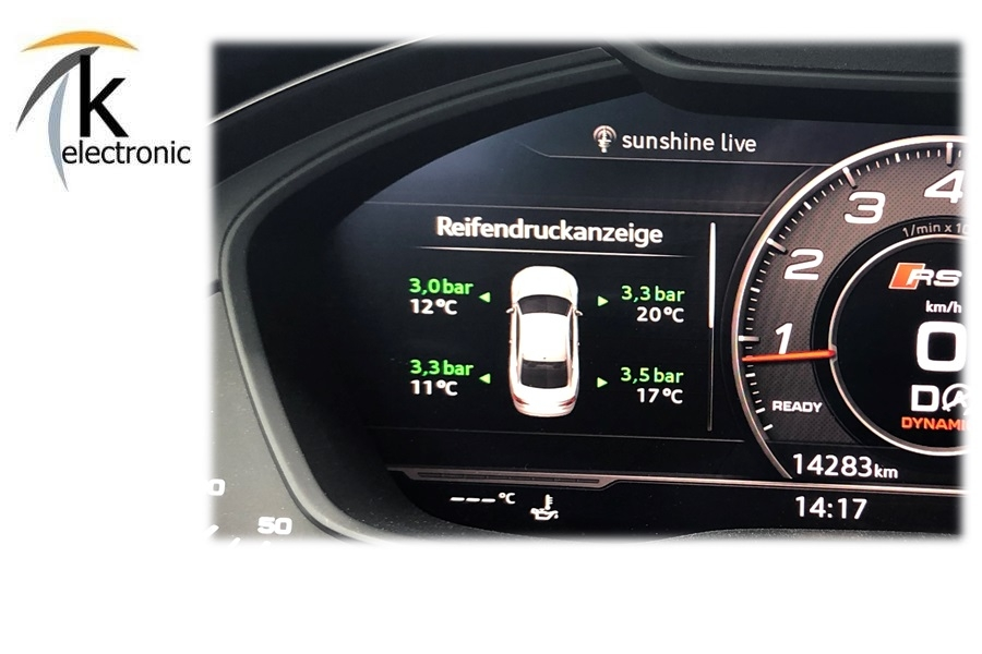 VW Audi Skoda Reifendruck Reifendrucksensor 5Q0907275B Reifendruckkontrolle RDK