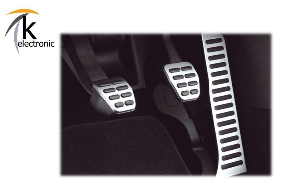 k electronic audi q3 8u edelstahl pedalkappen f r. Black Bedroom Furniture Sets. Home Design Ideas